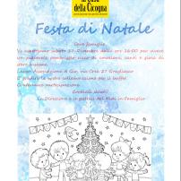 Festa di Natale e chiusura per le vacanze 2016
